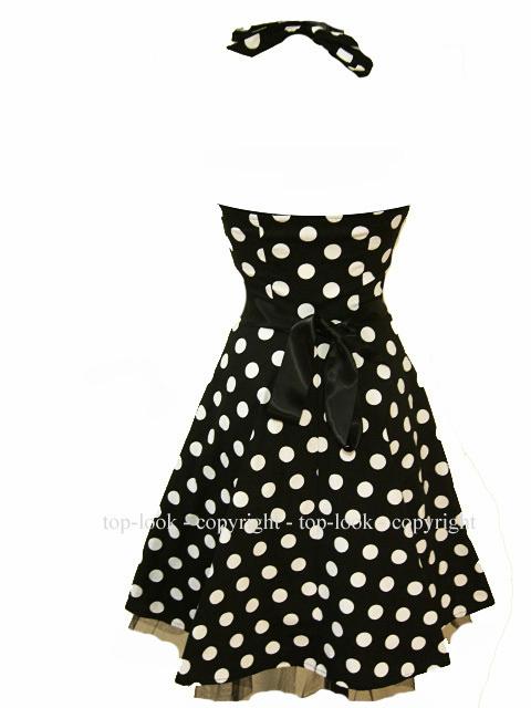 Enlarge Polka Dot Dress