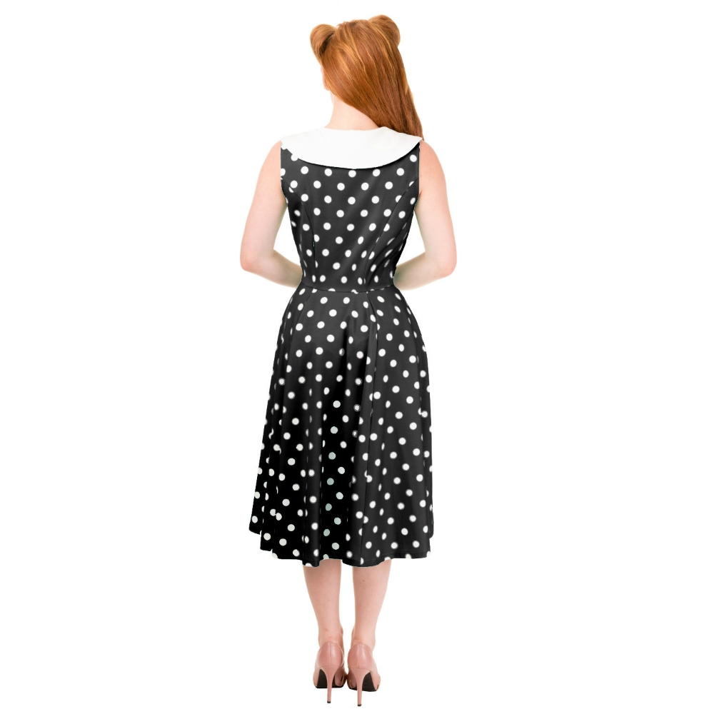 Black Rival Banned 1940s Dress