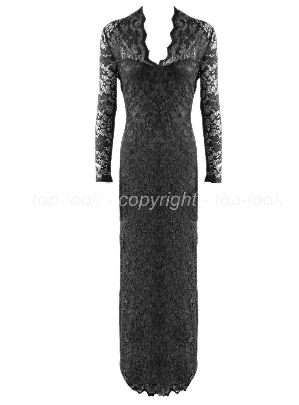 Lace Prom Evening Dress