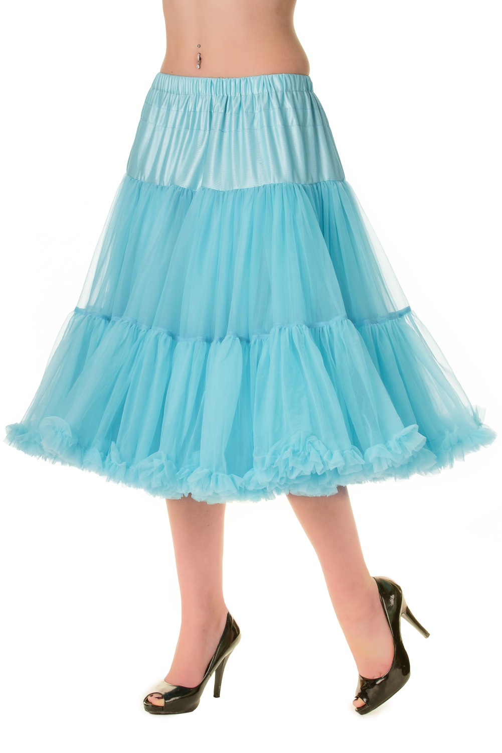 Banned Retro 50s Lizzy Lifeforms Blue Petticoat