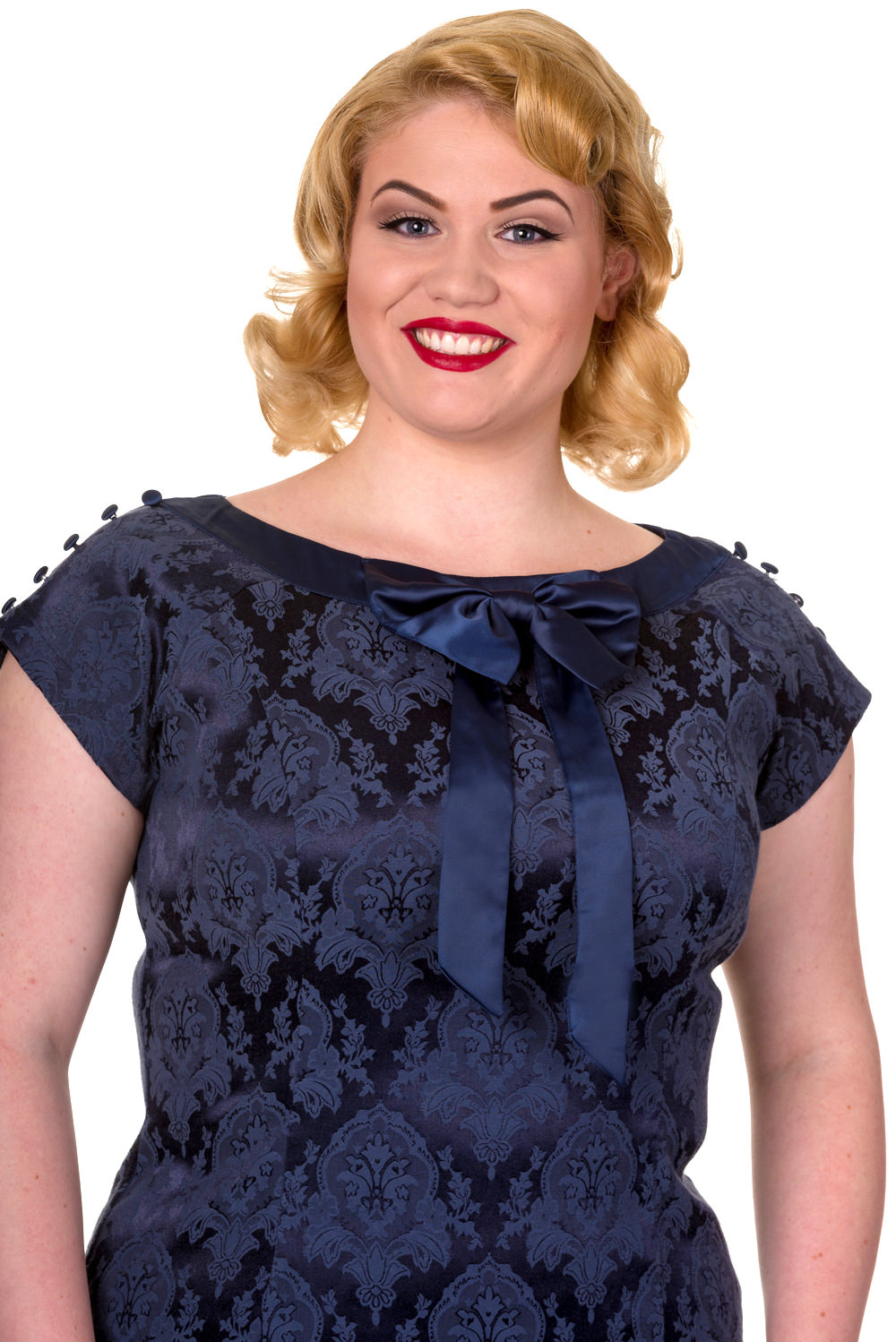 Banned Blue Limitless Plus Size Dress