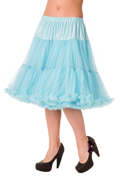 Banned Retro 50s Starlite Blue Petticoat