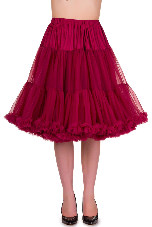 Bordeaux Starlite Petticoat