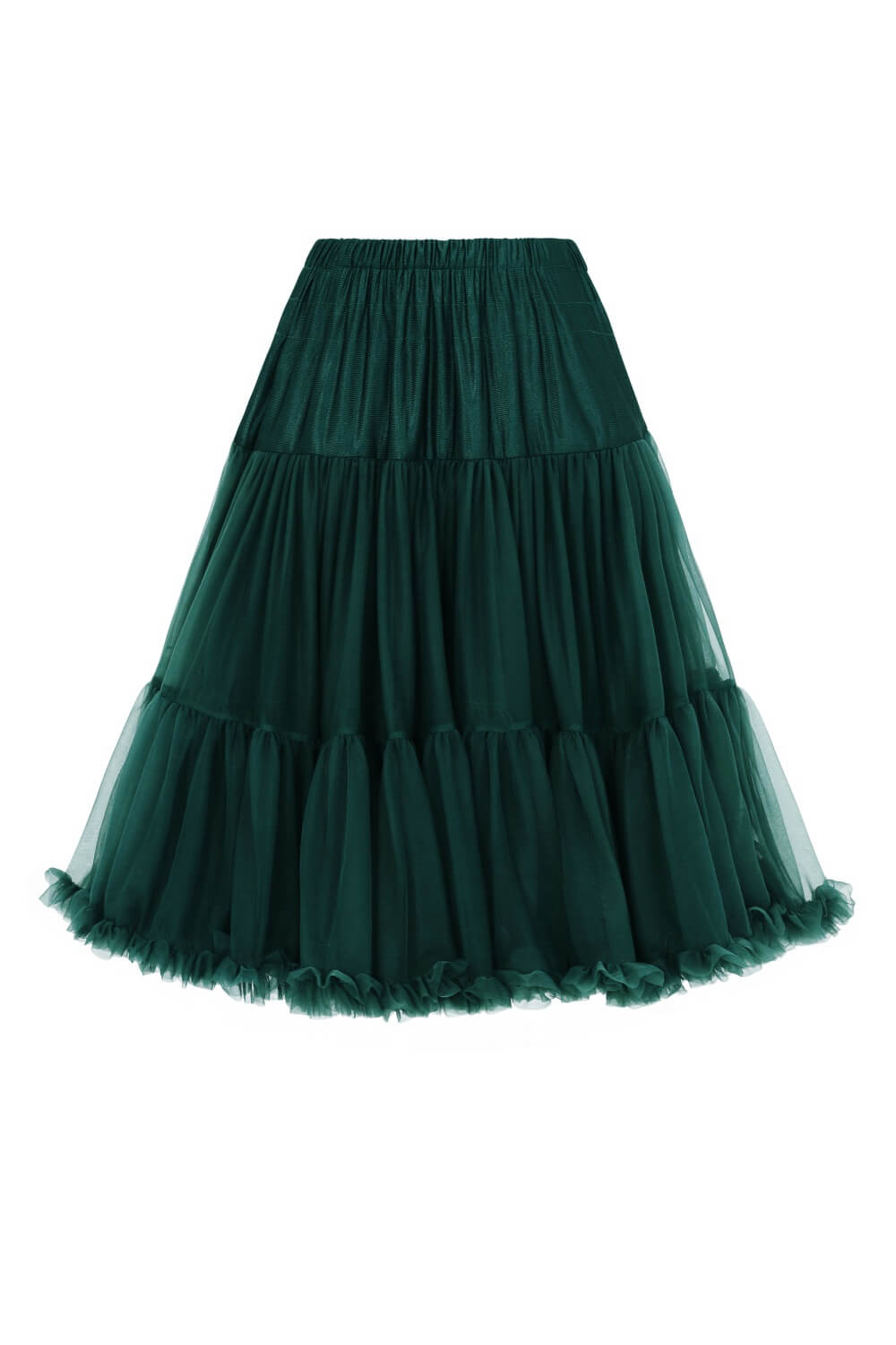 Banned Bottle Green Lifeforms Petticoat