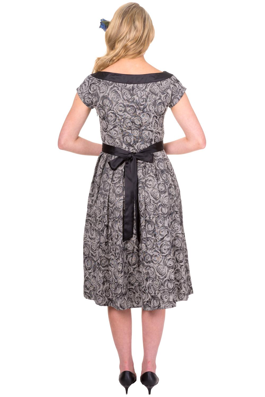 Banned Clothing Day Of Break Grey/Black Dress - PDUK