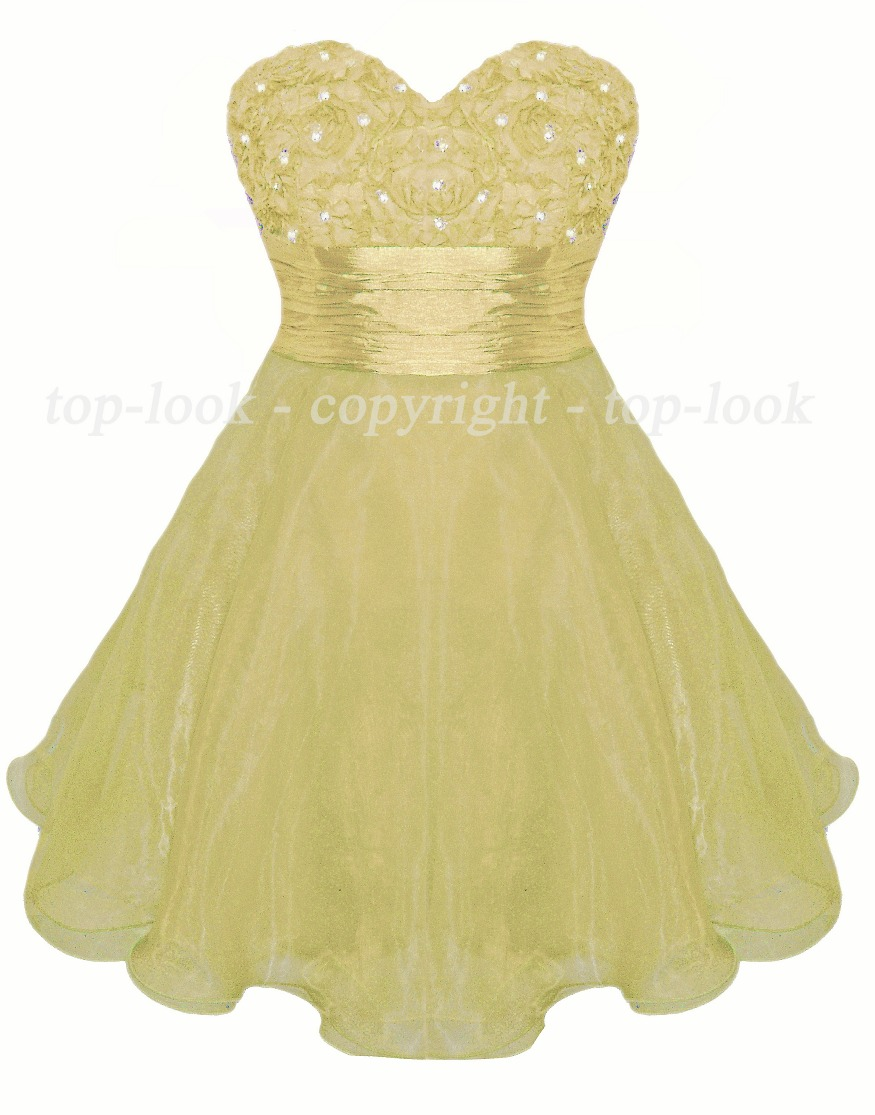 Mini Champagne Party Prom Dress
