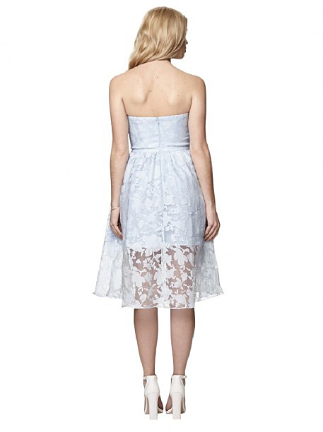 Chi Chi London Lace Bandeau Prom Dress