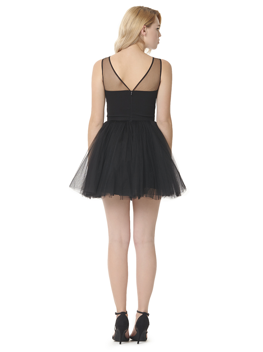 Chi Chi Hollie Black Dress