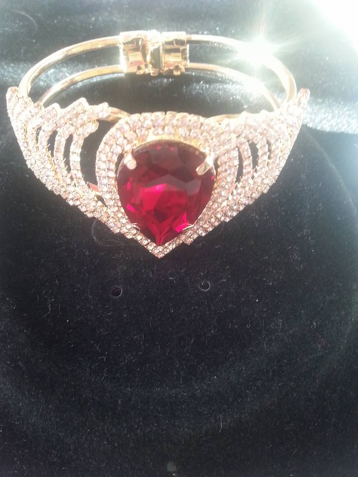 Red Clarissa Bracelet