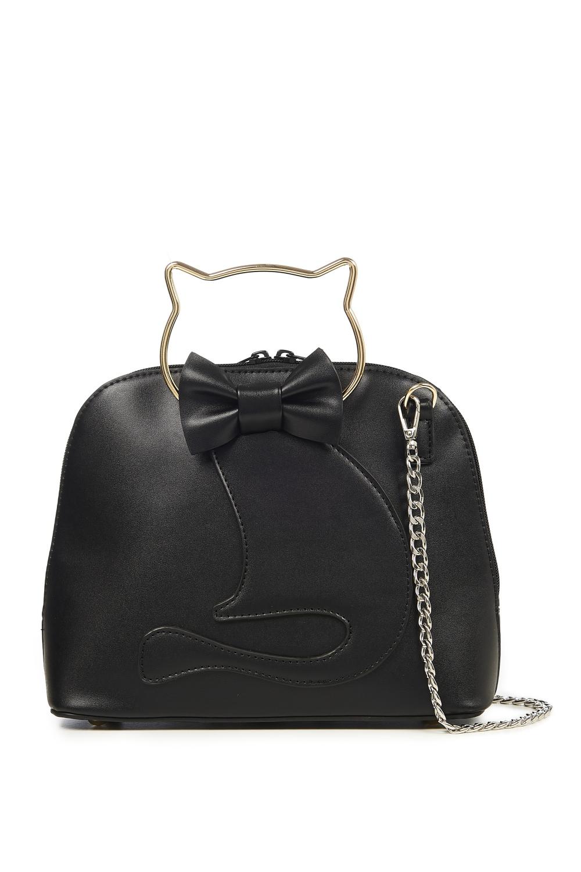 Banned Retro 50s Dixie Black Cat Bag