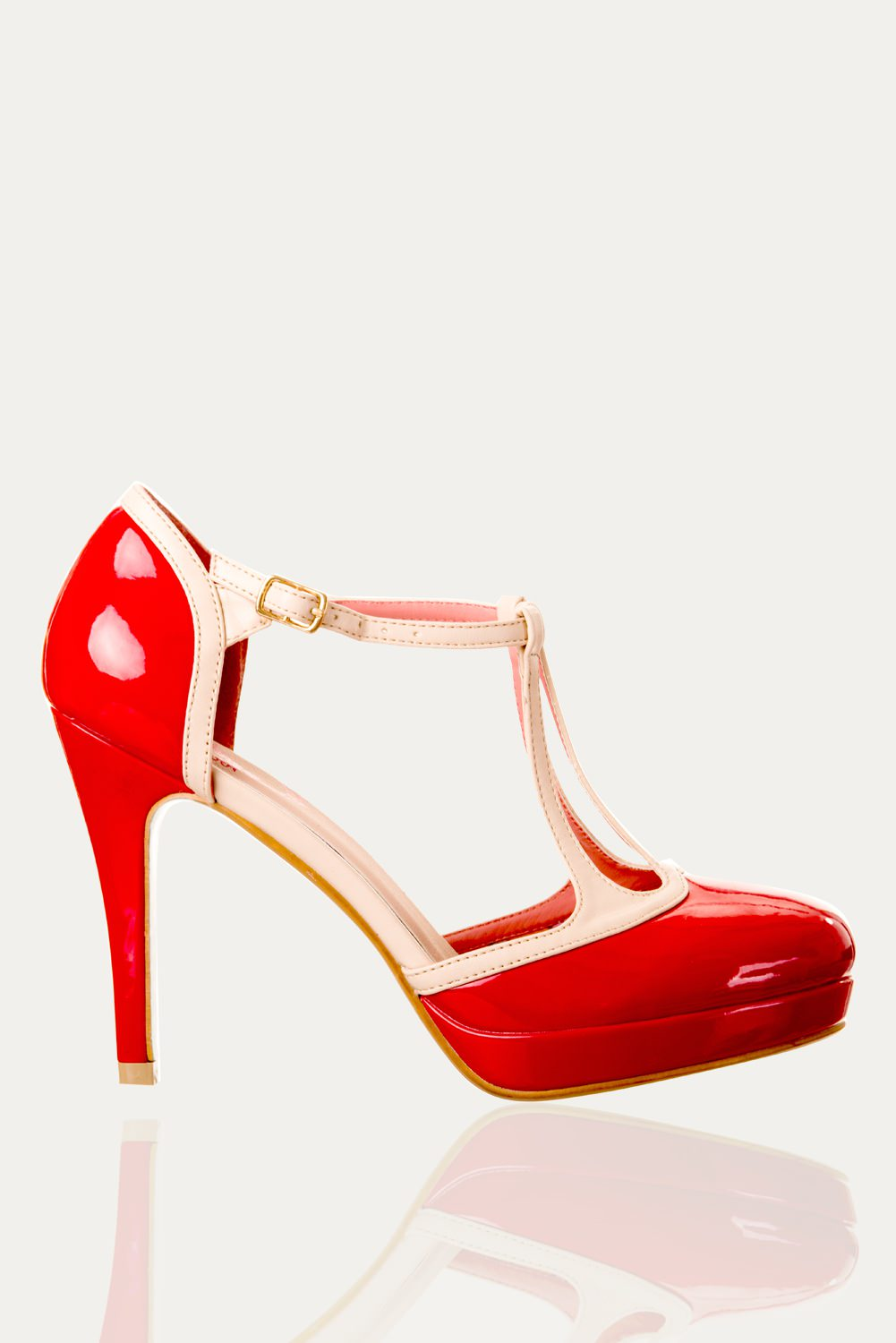 Dancing Days Betty Red 50s Shoes