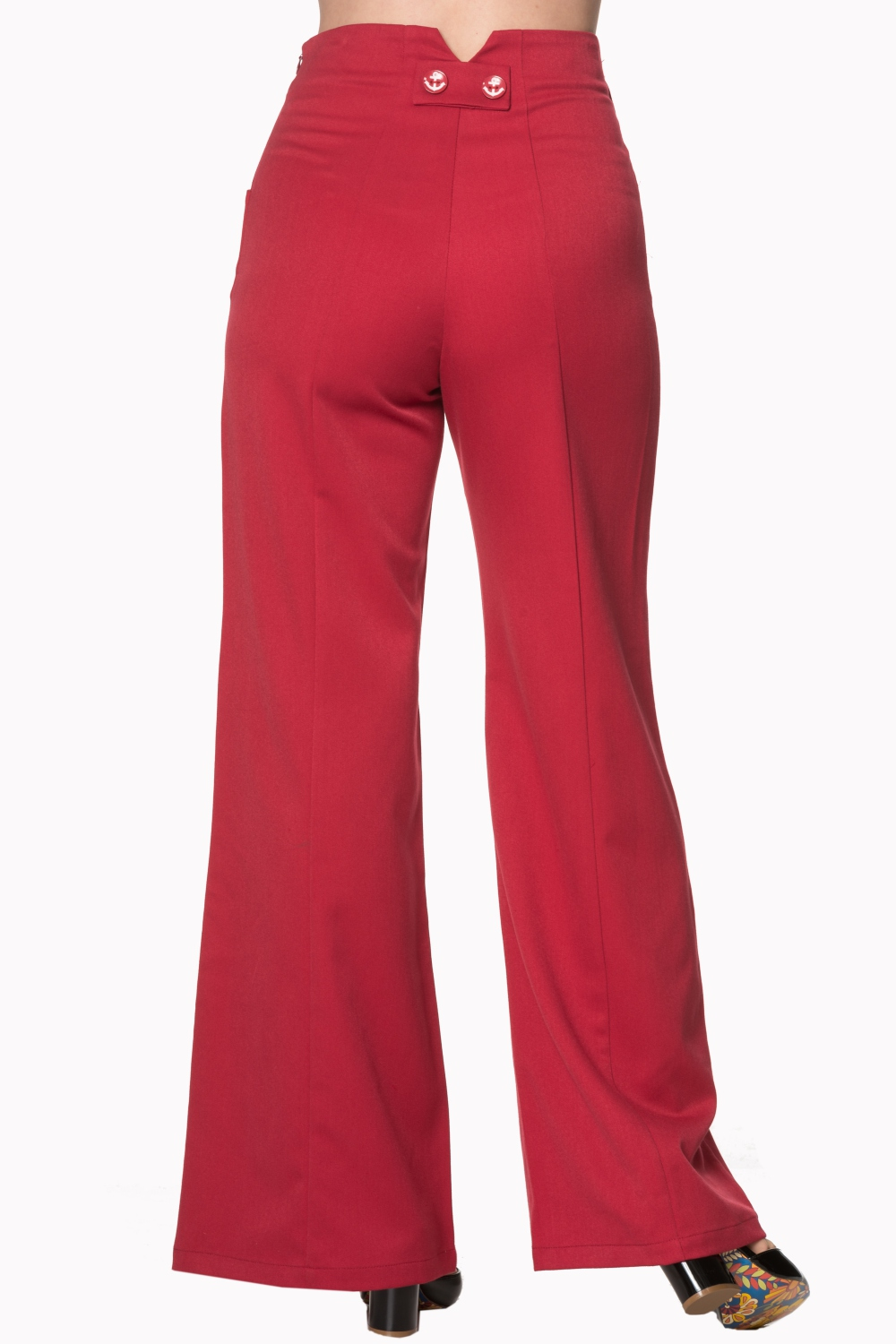Dancing Days by Banned 40s Stay Awhile Red Trousers