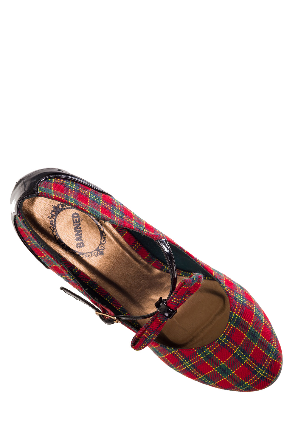 Dancing Days Dorothy 50s Tartan Shoes