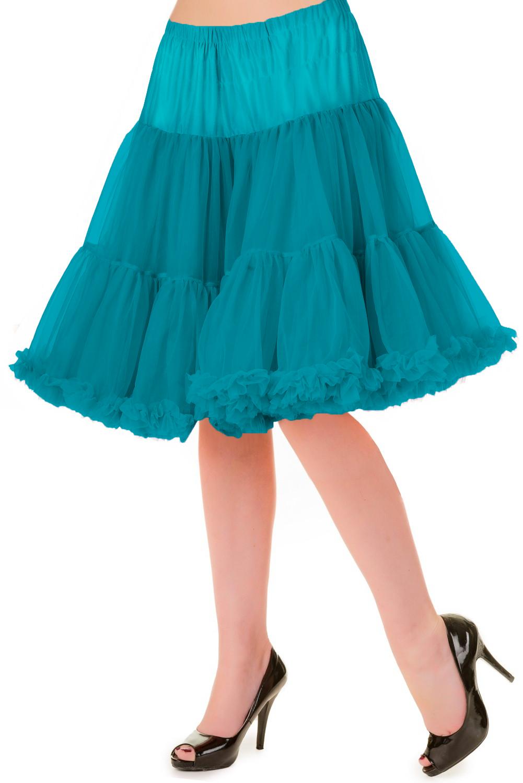 Banned Retro 50s Walkabout Emerald Petticoat