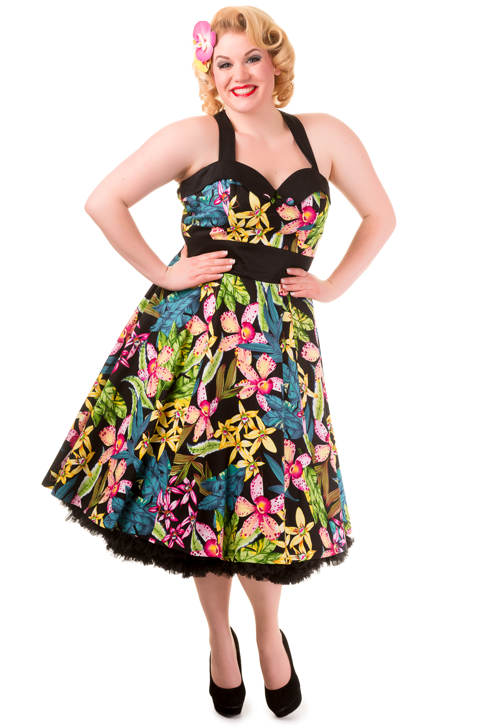 Banned Everlong Tropical Dress