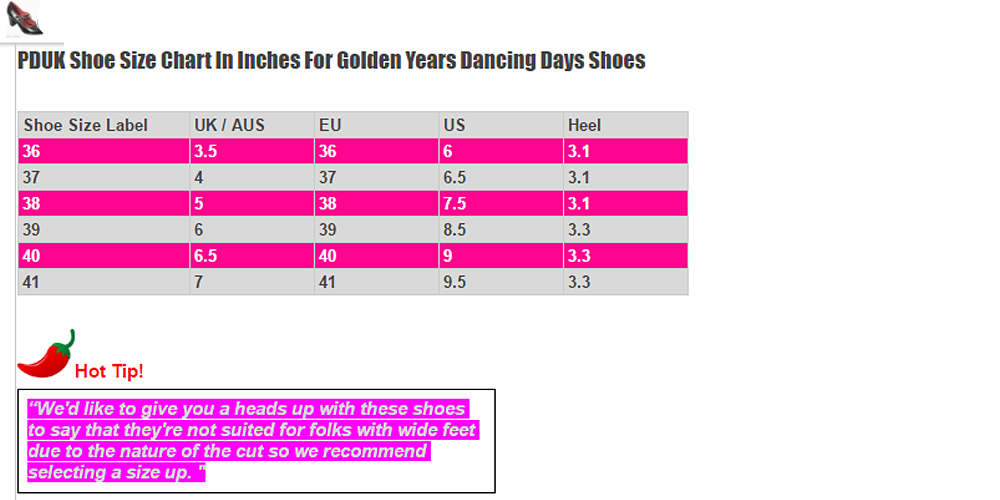 Dancing Days Golden Years 60s Patent Black Shoes