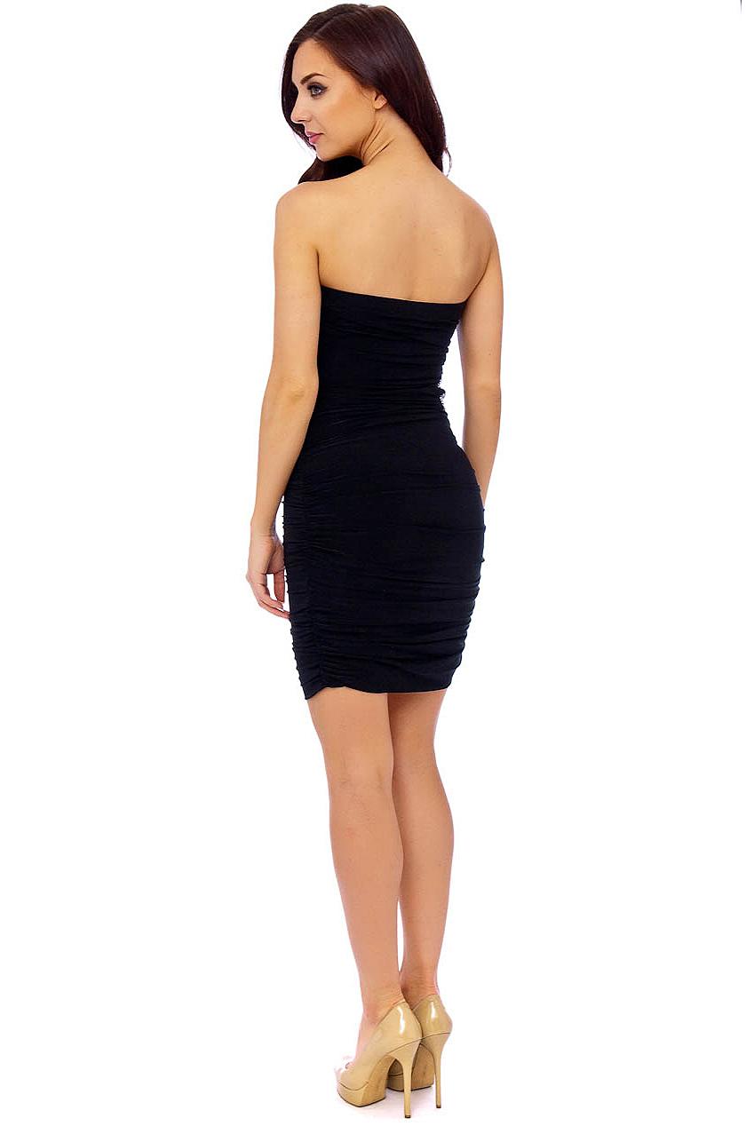 PDUK Isabella Black Prom Dress