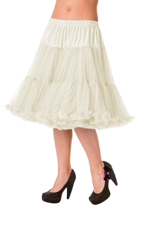 Banned Retro 50s Starlite Ivory Petticoat
