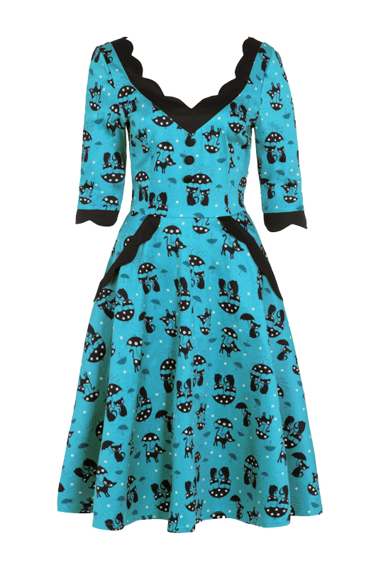 Voodoo Vixen Blue Katnis Dress 2016