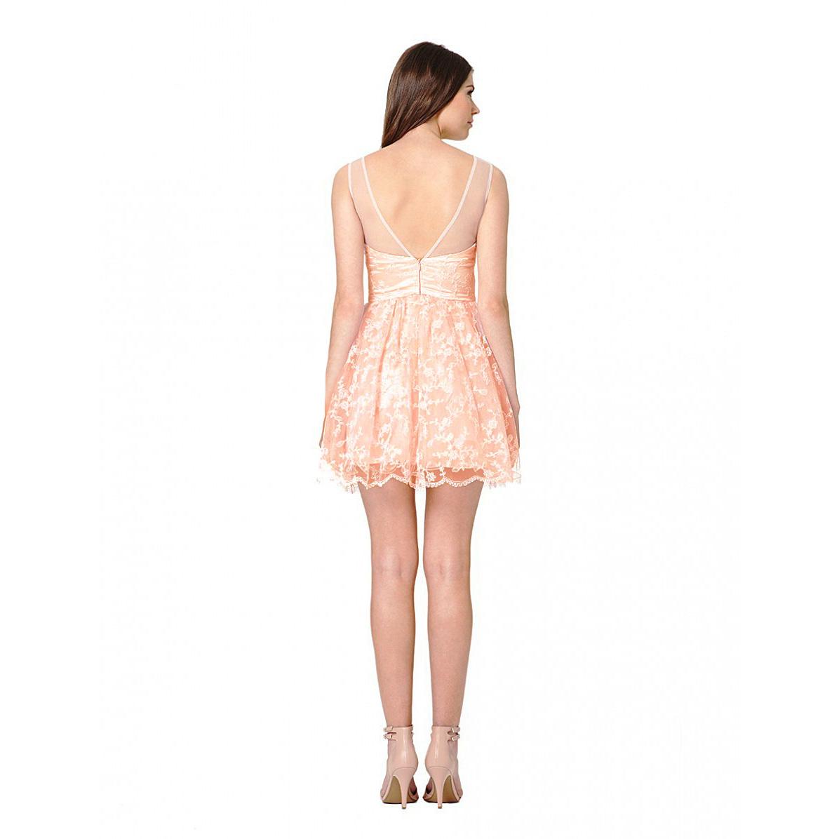 Chi Chi Kiera Pink Prom Dress