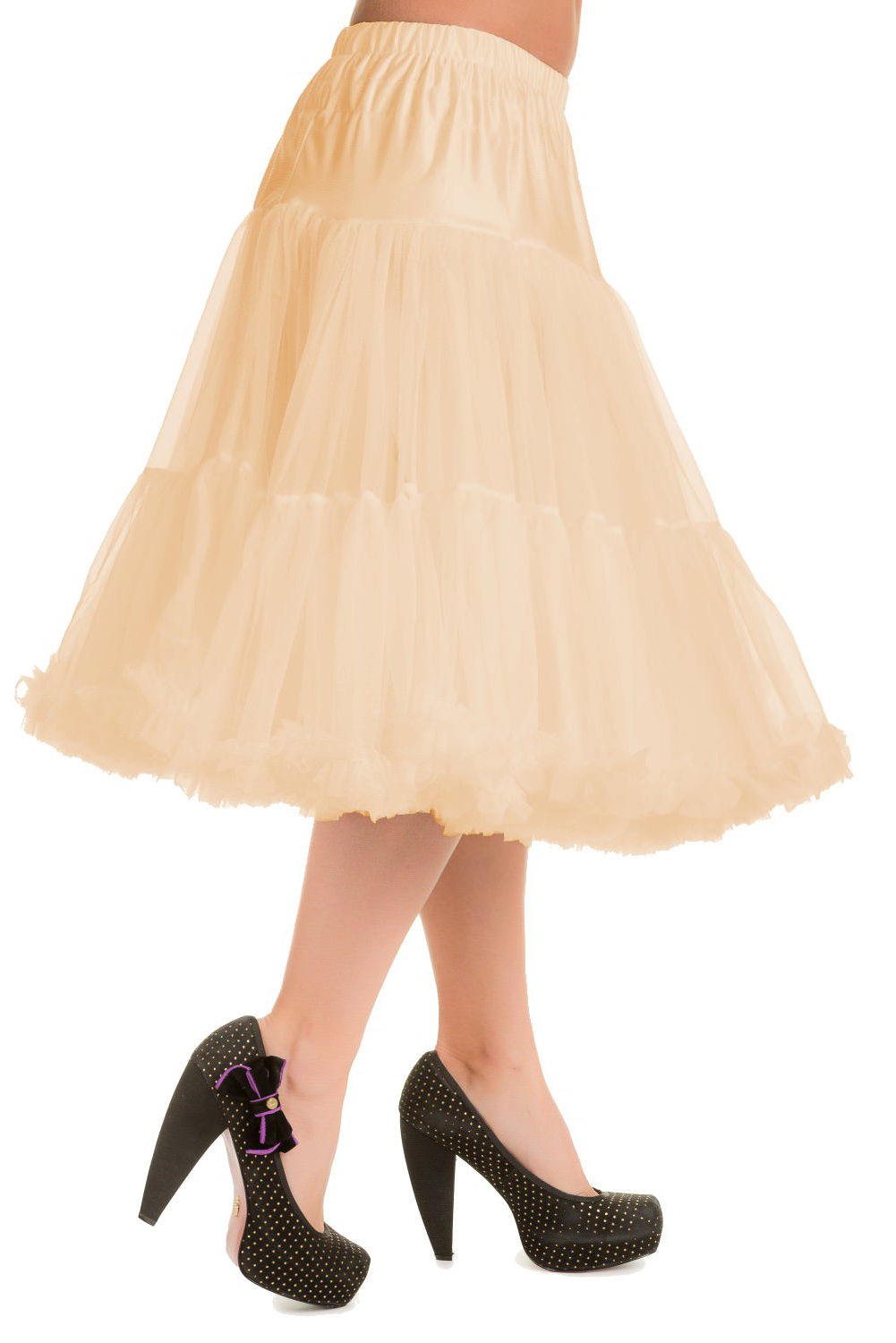 Banned Retro 50s Lizzy Lifeforms Champagne Petticoat