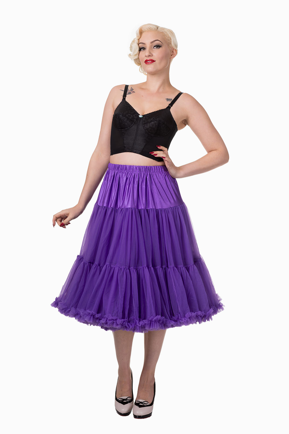 Banned Purple Lifeforms Petticoat