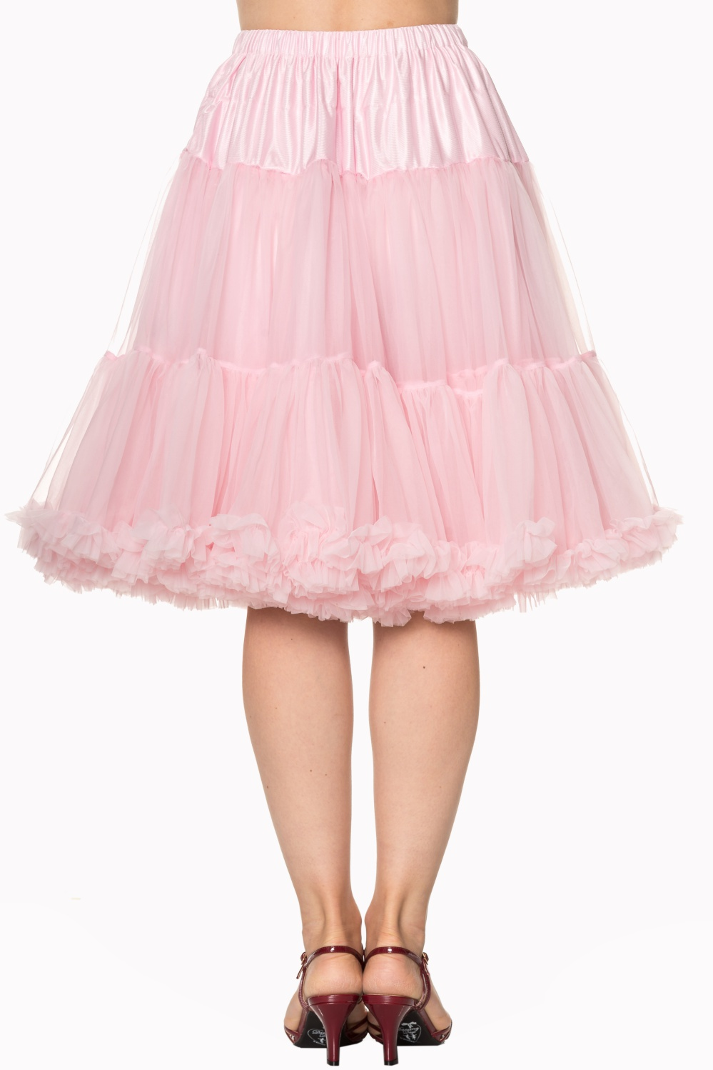 Banned Retro 50s Starlite Light Pink Petticoat