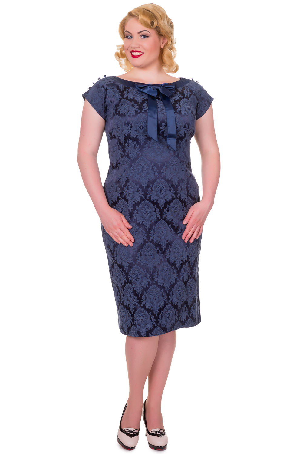 Banned 1940s Plus Size Limitless Dress