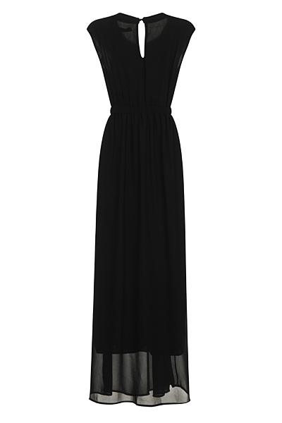 Black Lizzie Nazz Collection Maxi Dress