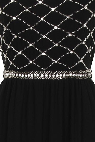 Nazz Lizzie Maxi Prom Chiffon Dress