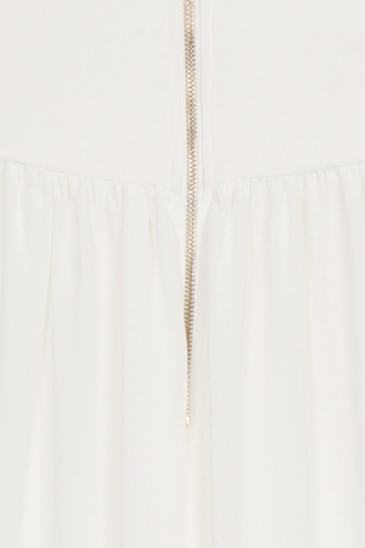 White Lucy Chiffon Bridesmaids Dress