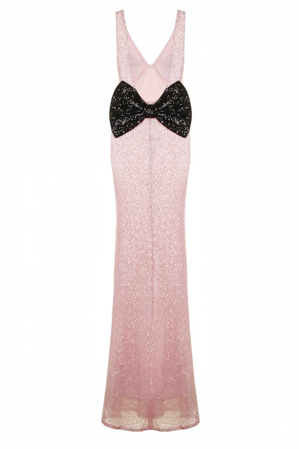 Nazz Collection Pink Sequin Marilyn Mermaid Dress