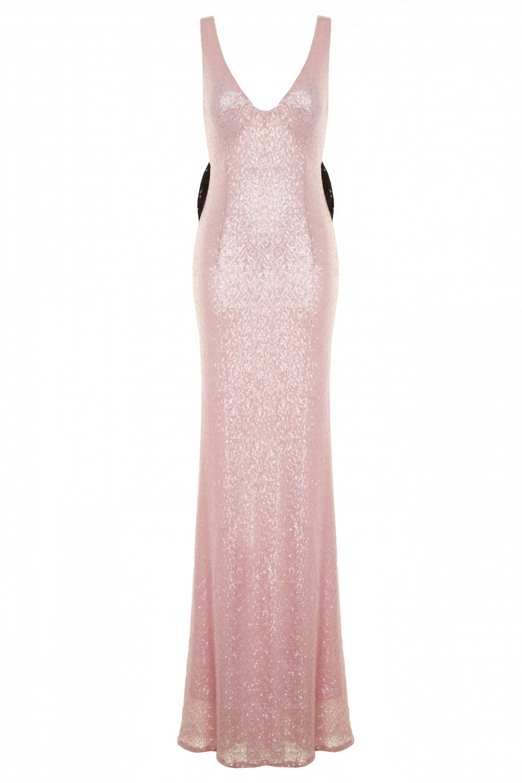 Pink Sequin Marilyn Mermaid Dress