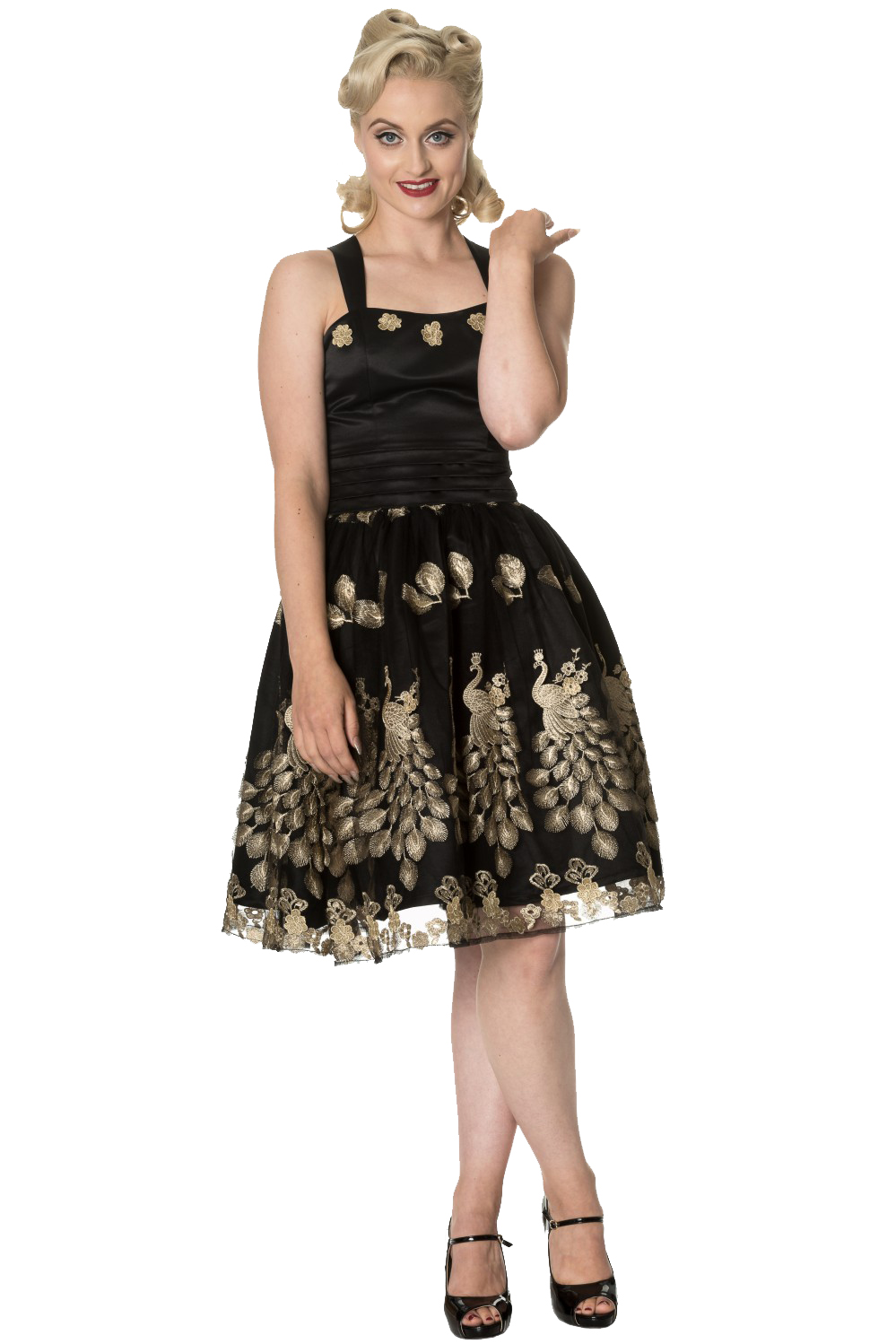 ancing Days Moonlight Escape Black Prom Dress