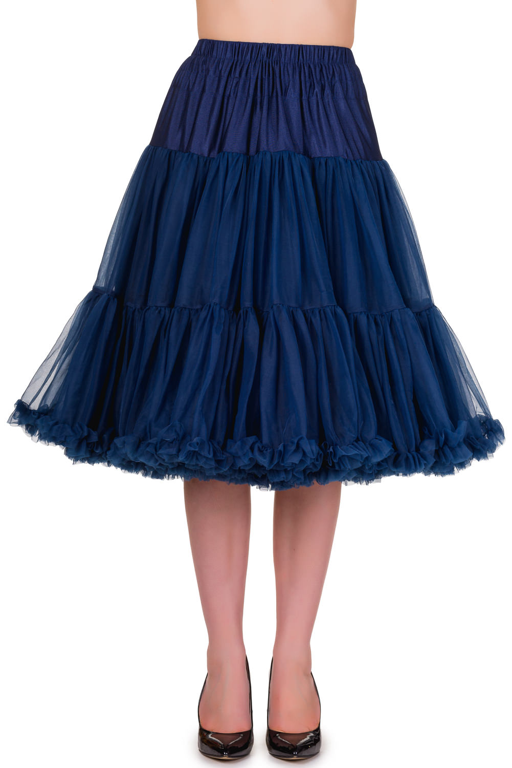 Banned Retro 50s Lizzy Lifeforms Navy Petticoat