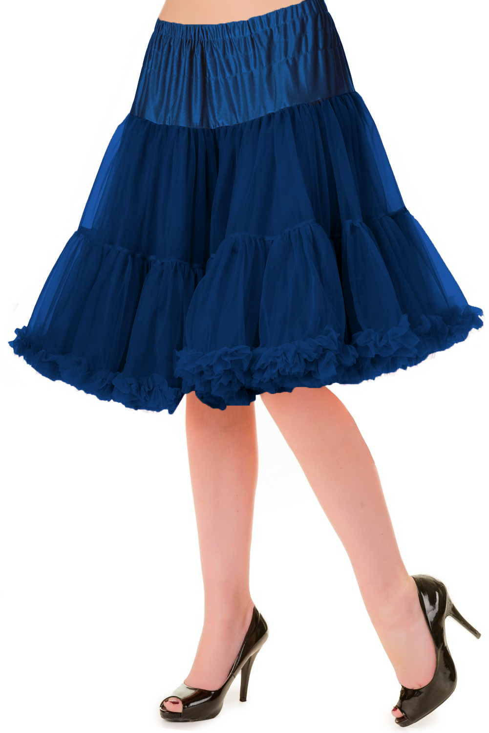 Banned Retro 50s Walkabout Navy Petticoat