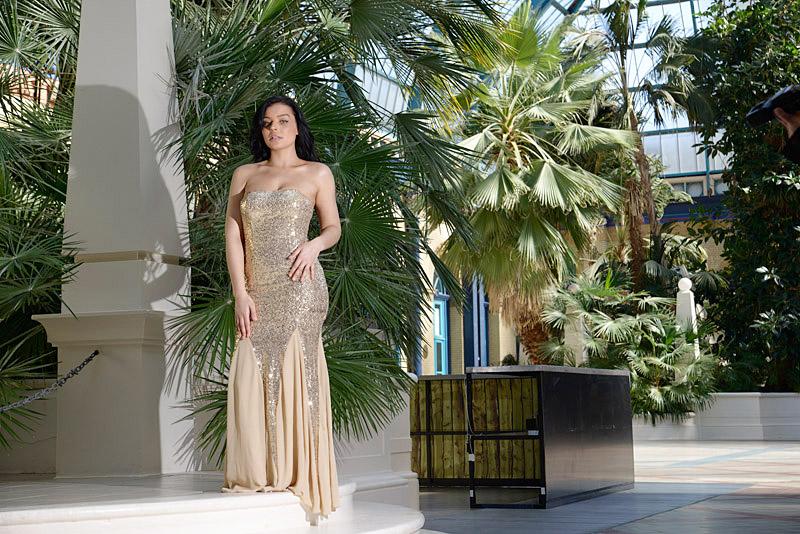 Nazz Collection Elisa Sequin Mermaid Dress