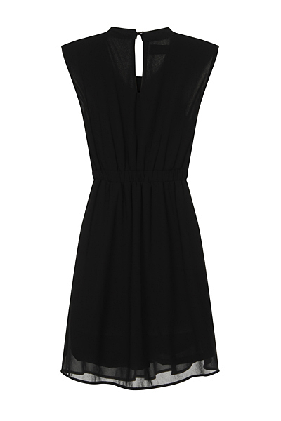 Nazz Collection Black Hana Dress Chiffon Dress