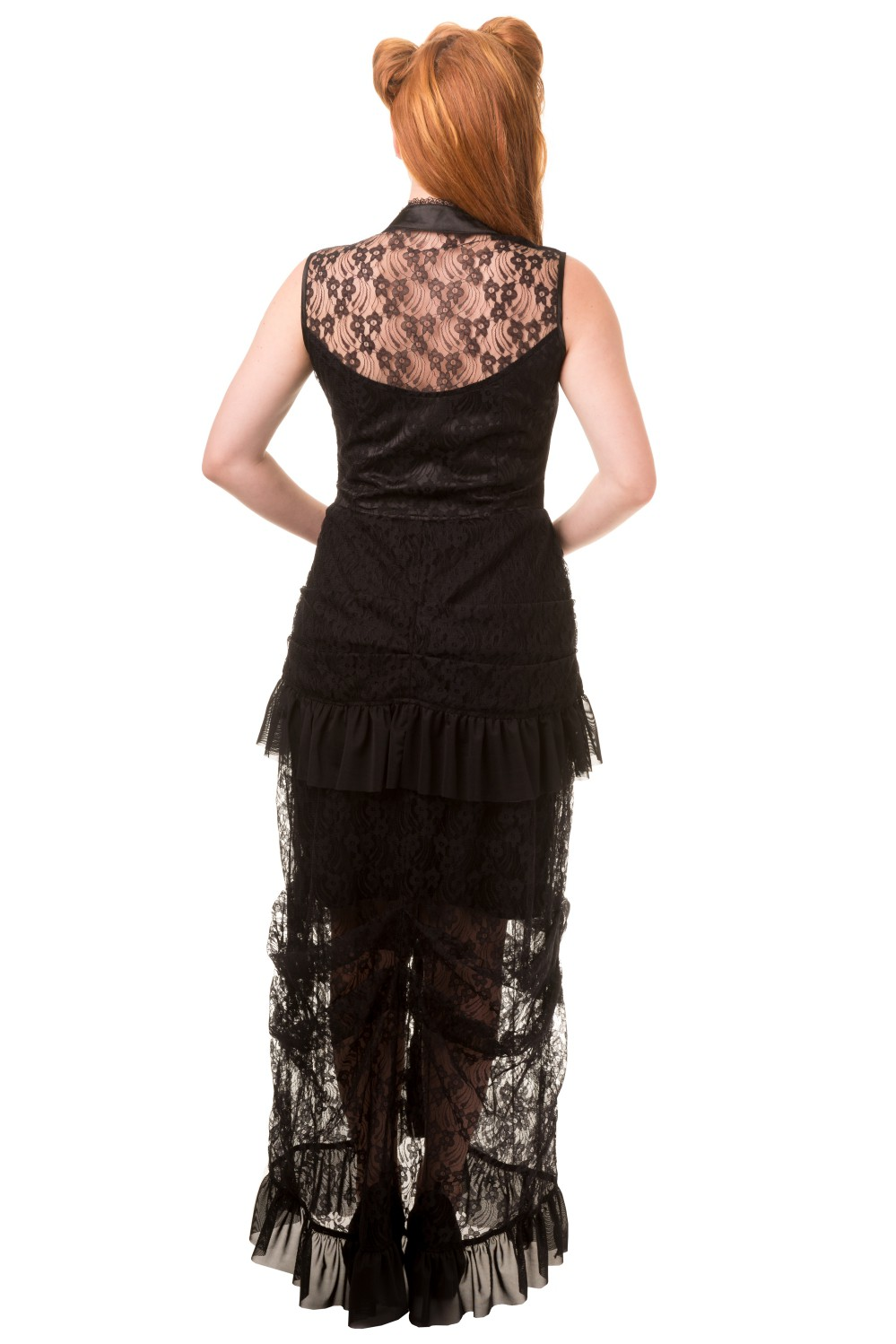 Banned Nevermind Gothic Maxi Prom Dress