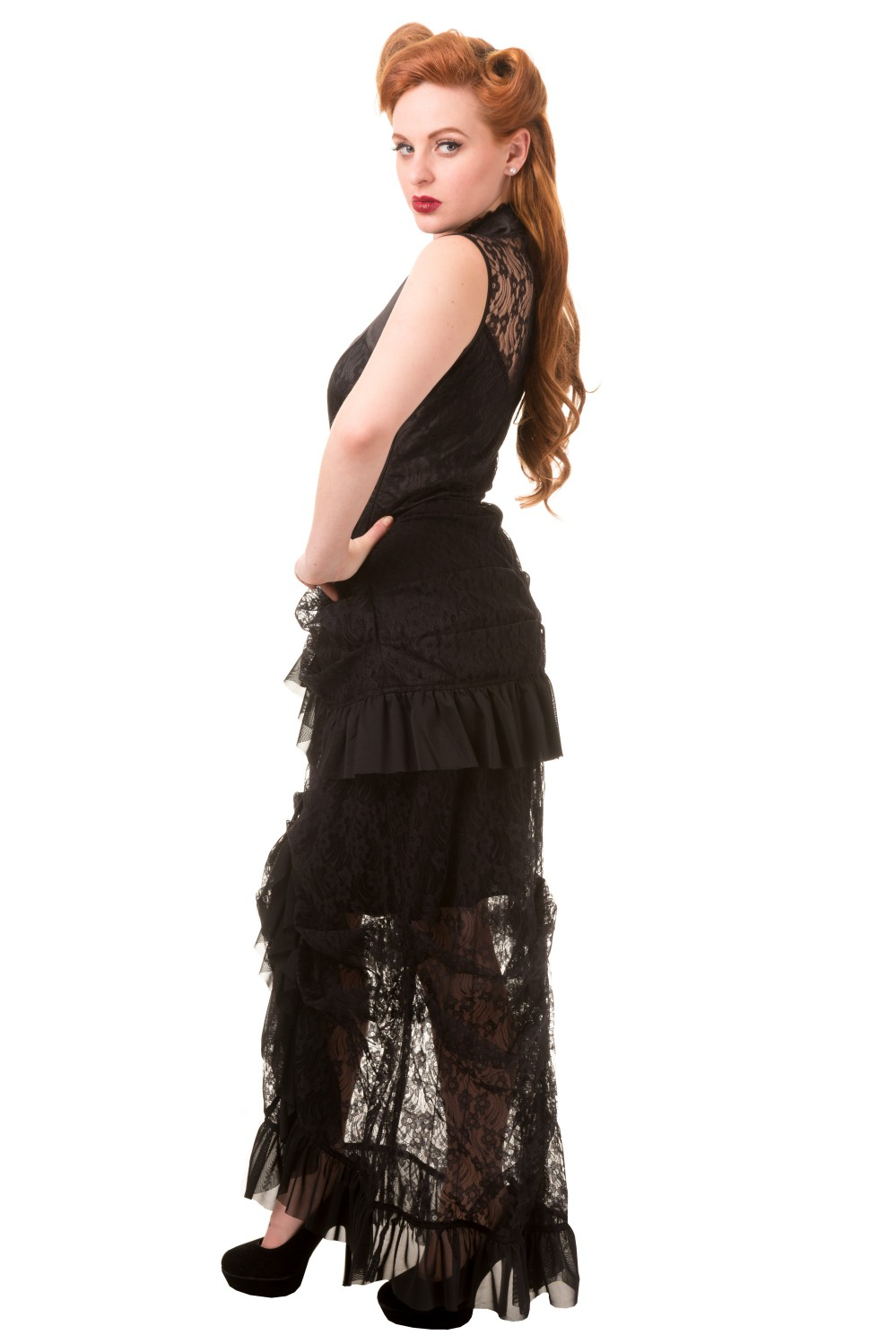 Banned Clothing Nevermind Lace Dress