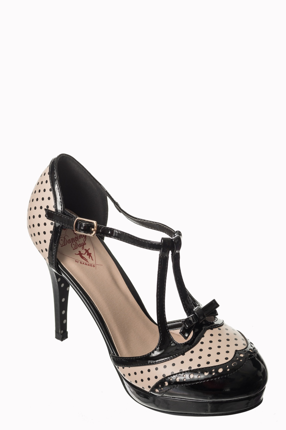 Dancing Days Nude One Note Samba 50s Shoes