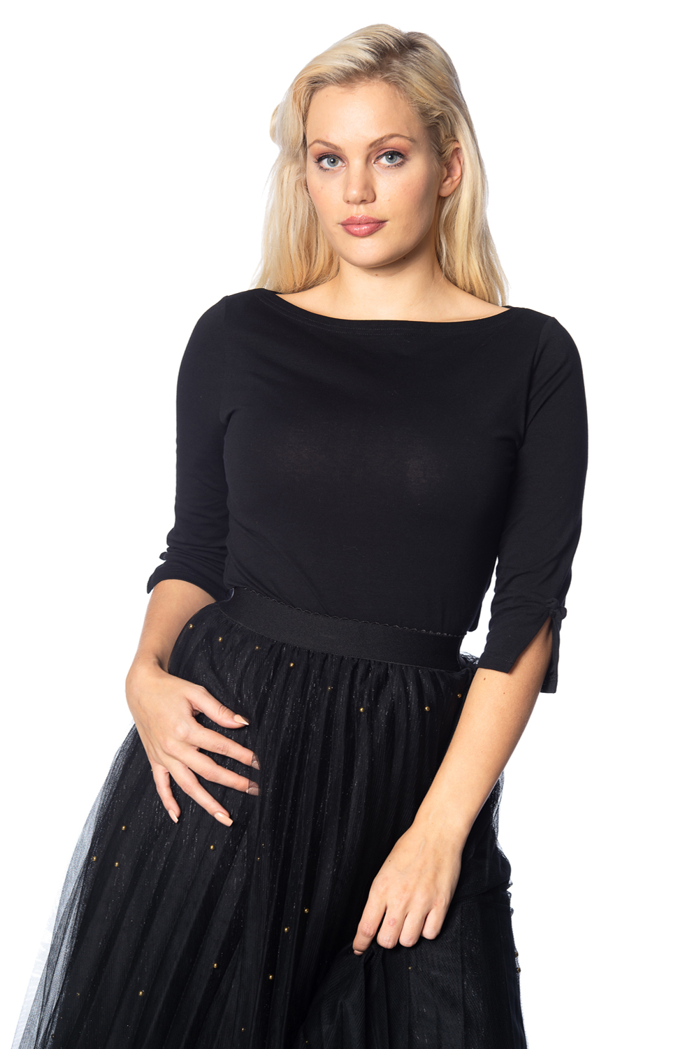 Banned Retro 50s Oonagh Black Top
