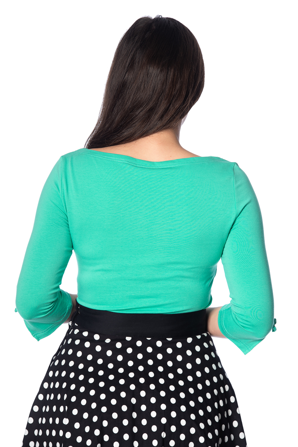 Banned Retro 50s Oonagh Emerald Top