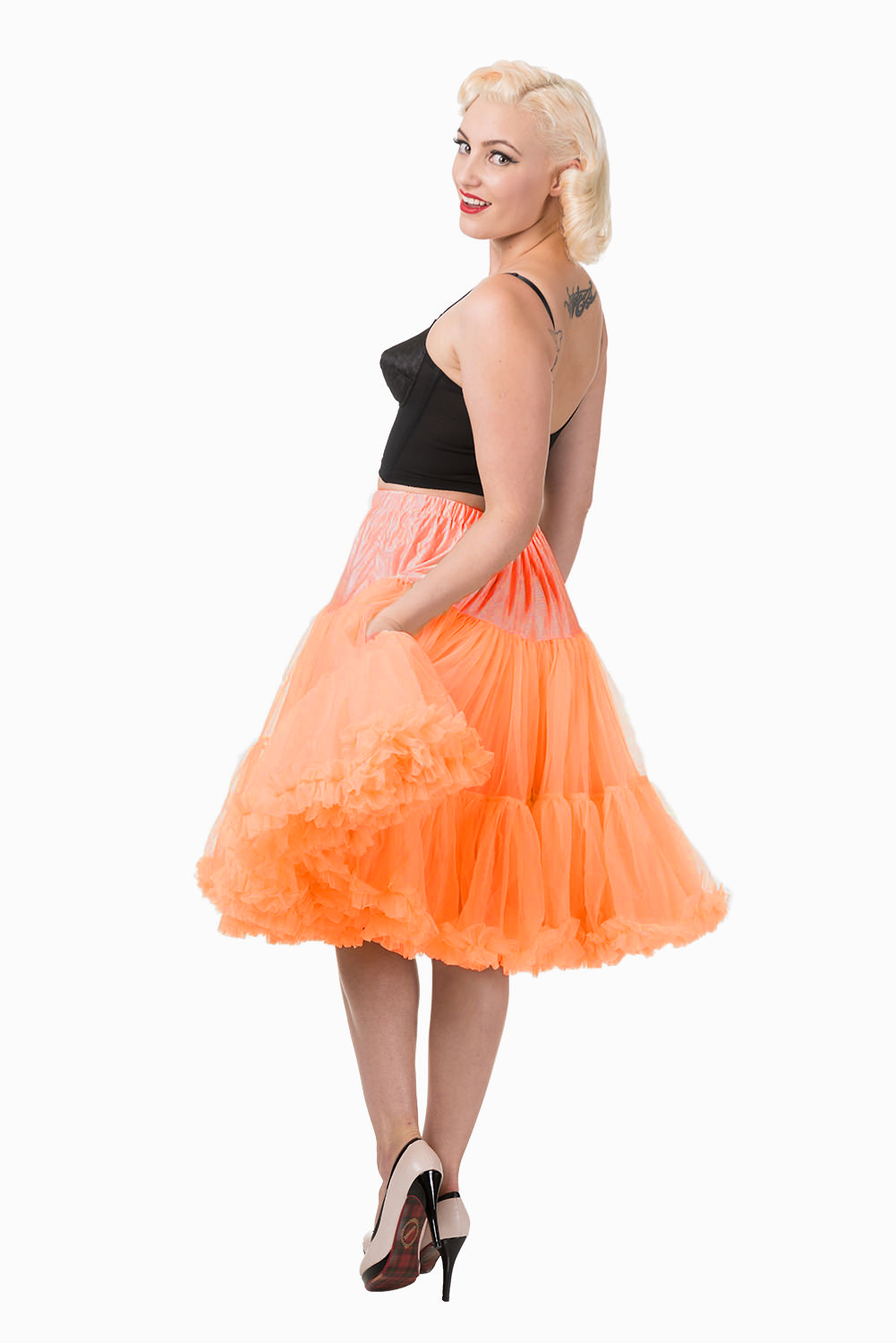 Banned Retro 50s Starlite Orange Petticoat