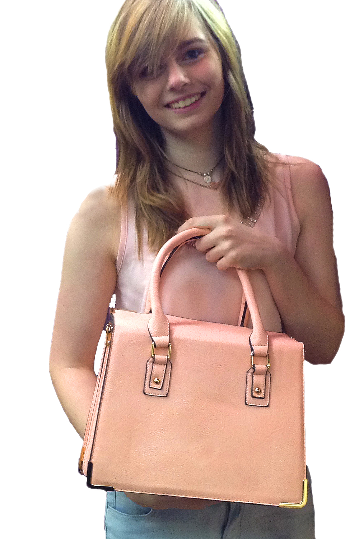 Panache Boutique Dover Olivia Baby Pink Handbag