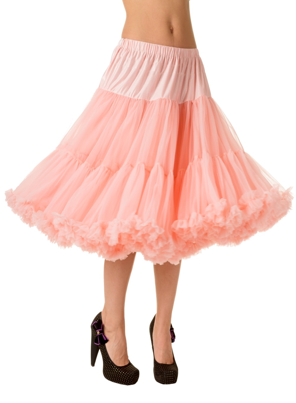 Banned Retro 50s Lizzy Lifeform Pink Petticoat