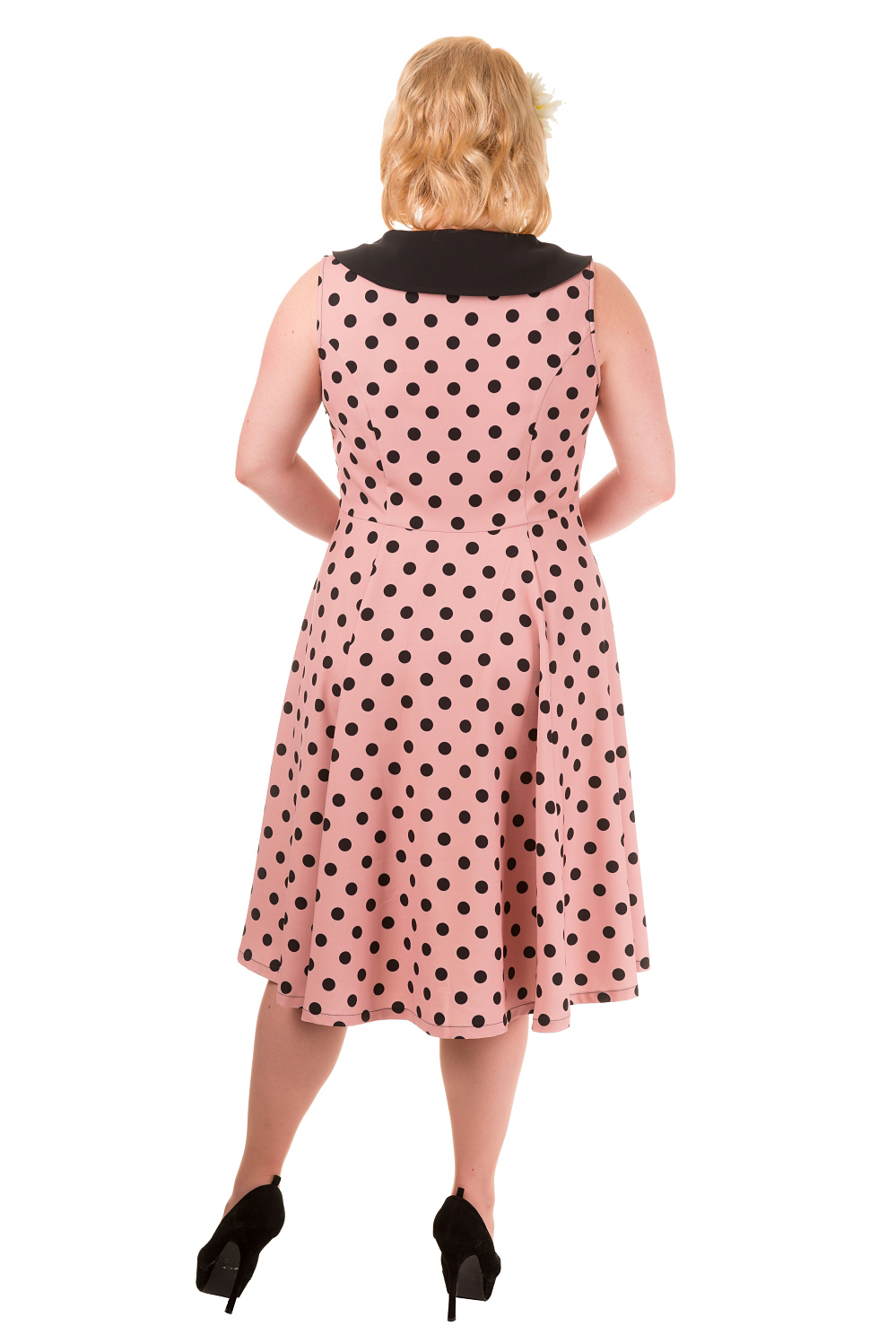 Banned Pink Vintage Rival 40s Plus Size Dress
