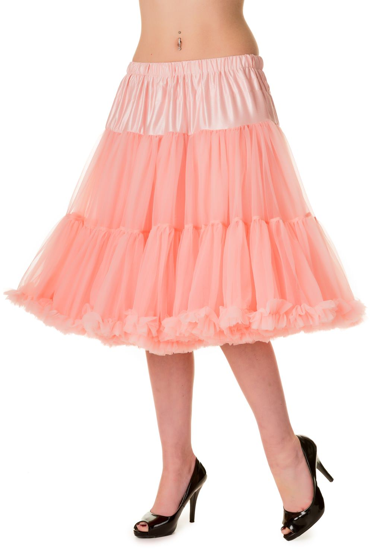 Banned Retro 50s Starlite Pink Petticoat