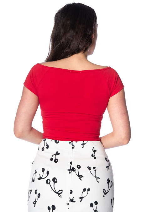 Red Bow Wow Banned Top