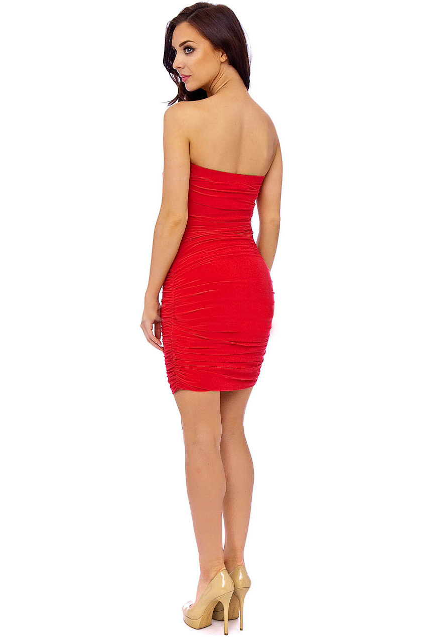 PDUK Isabella Red Dress